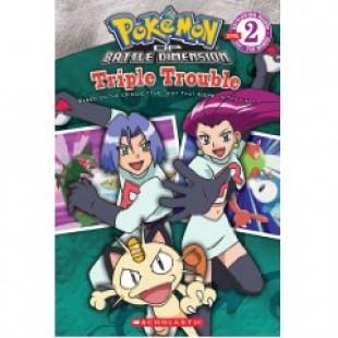 POKEMON:TRIPLE TROUBLE (READING BOOK)